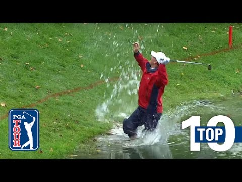 Top 10 shots from the water on the PGA TOUR