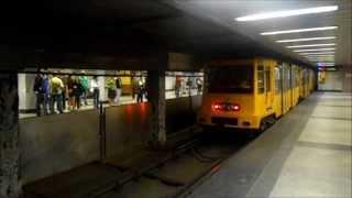 Metro Budapest - Station Deák Ferenc tér M1