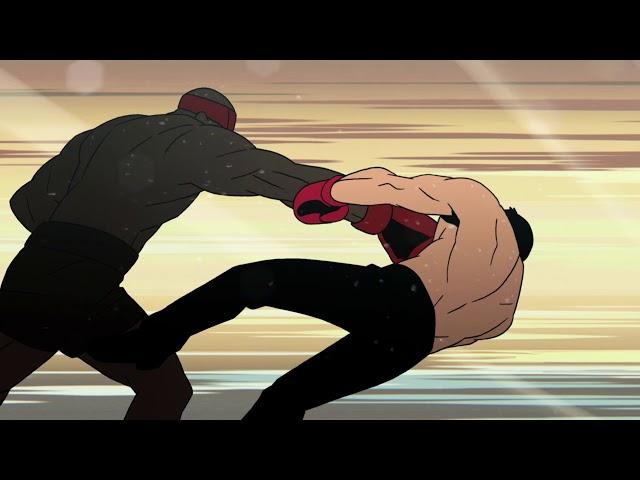 """Résultat de recherche d'images pour """"lastman fight anime"""""""