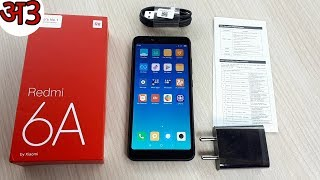 Redmi 6A Unboxing 2GB/16GB Black