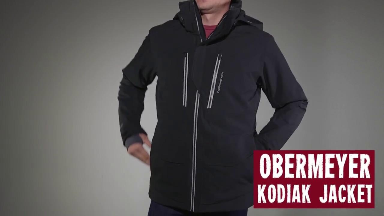 2349e209040a Obermeyer Men s Kodiak Jacket 2017 Review - YouTube