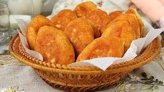 Пирожки жареные с горохом рецепт