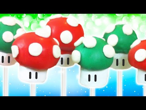 Save SUPER MARIO CAKE POPS - NERDY NUMMIES Pictures