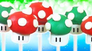 Super Mario Cake Pops - Nerdy Nummies
