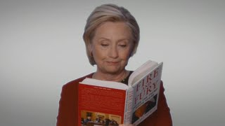 Hillary Clinton Showed Up on the 2018 GRAMMY Awards to Read From 'Fire and Fury!'