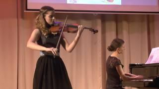 """Ж. Массне, """"Размышление"""" для скрипки соло из оперы «Таис»"""