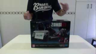 Unboxing |Desempaquetado - [NINTENDO WII U 32GB] ZOMBI U PREMIUM PACK! Español
