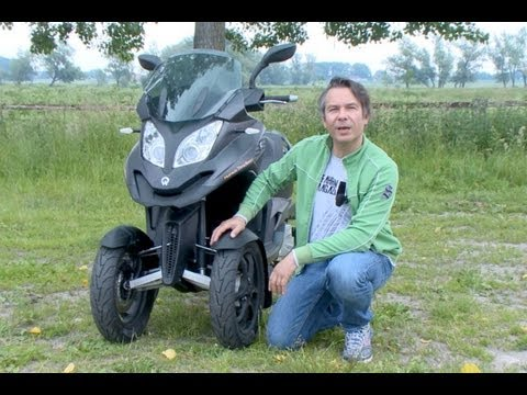 Dreirad-Roller Quadro 350 D im Test