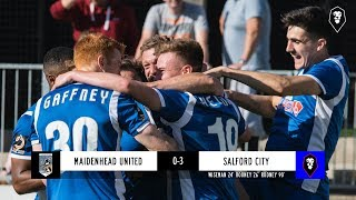 Maidenhead United 0-3 Salford City - National League 29/09/18
