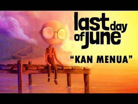 BATAS SENJA - KAN MENUA - GAME VIDEO LYRICS (LAST DAY OF JUNE)
