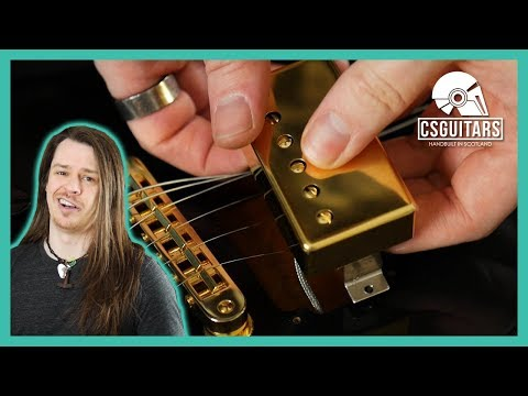 Installing Pickup Covers and Gold Hardware | Gibson 'Golden' Gothic Flying V