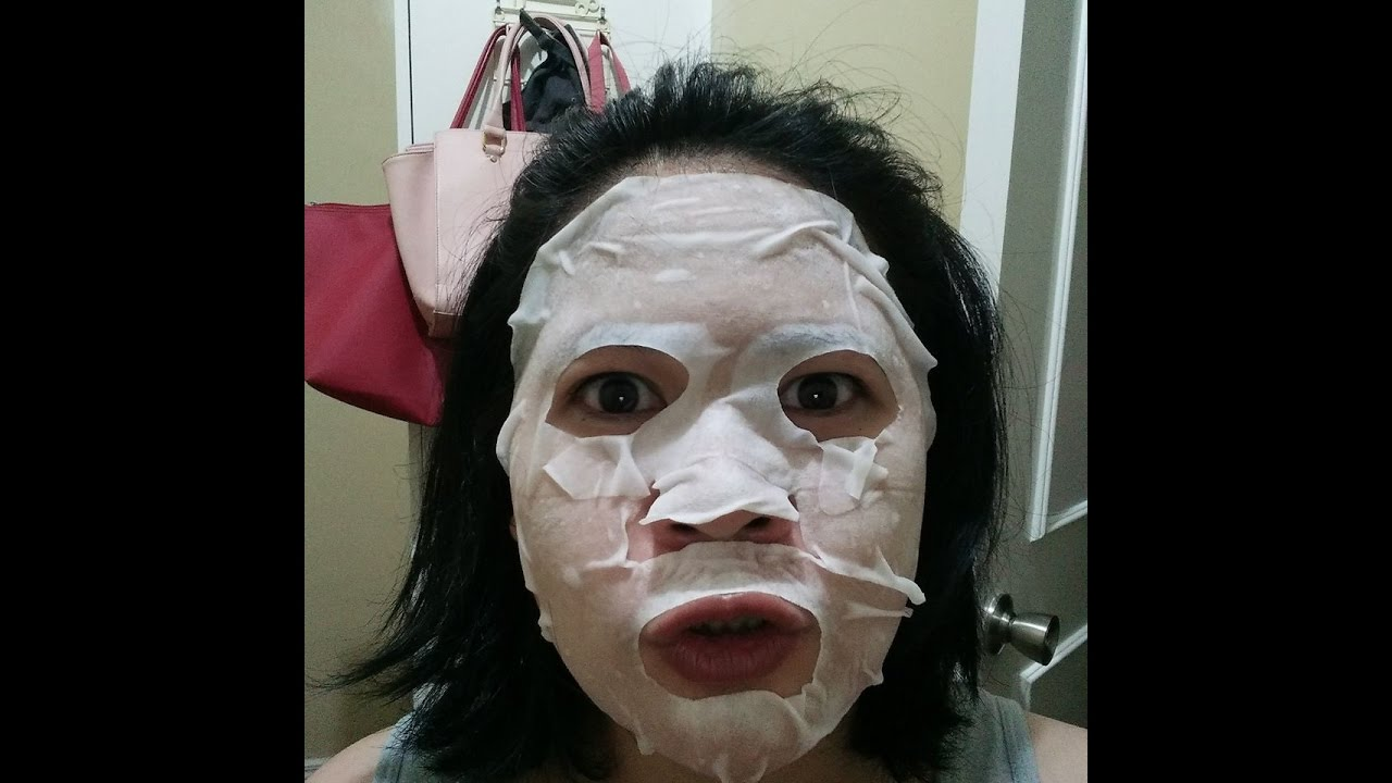 Collagen facial mask have hit