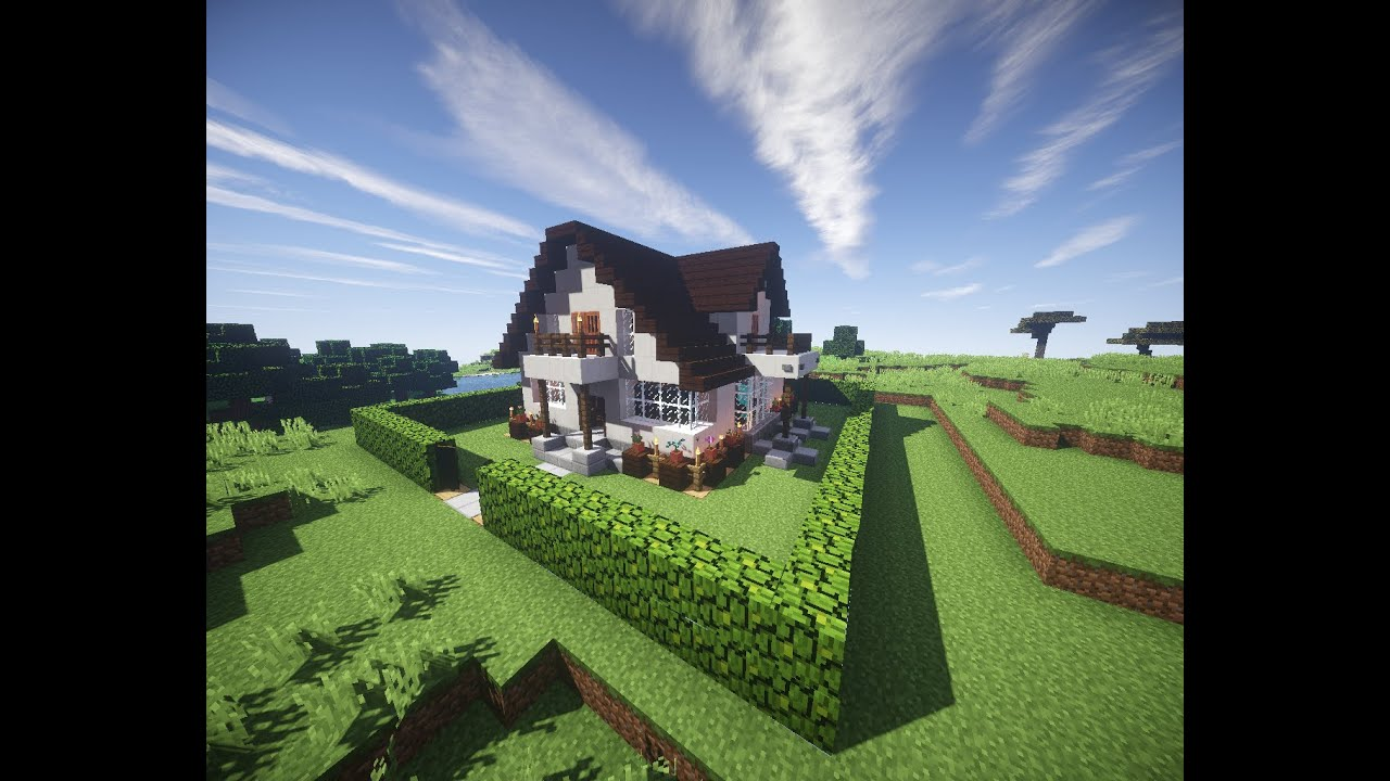 Minecraft Jak Zrobic Ladny Domek How To Build A Nice House 9 Youtube