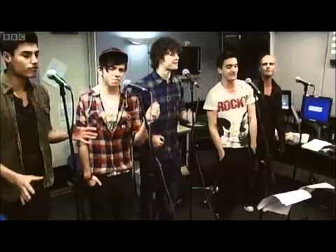 The Wanted - Animal - Neon Trees Cover (Radio 1 Live Lounge)