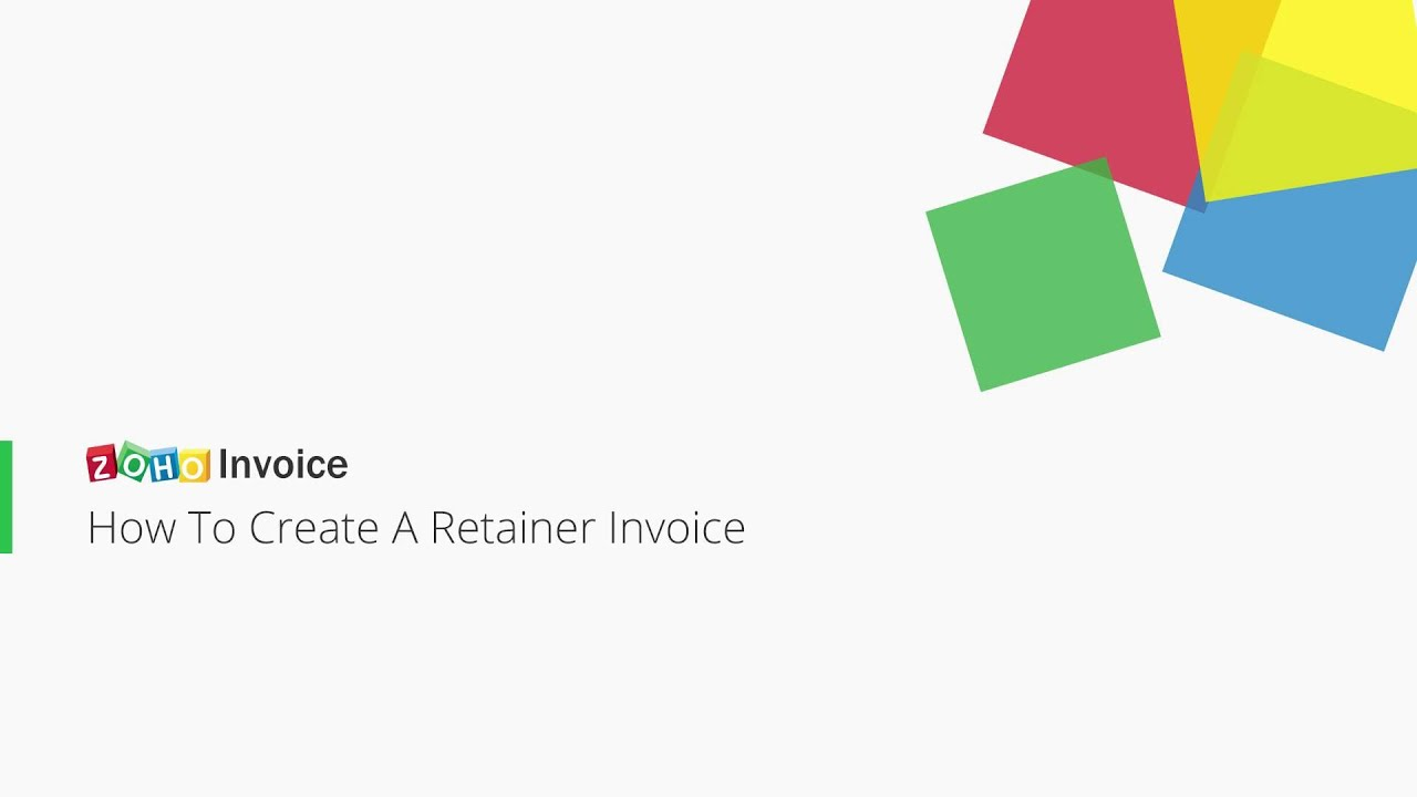 Invoice Dispute Letter Pdf Zoho Invoice  How To Create A Retainer Invoice  Youtube Copy Of Receipts Pdf with Meatball Receipt Excel Zoho Invoice  How To Create A Retainer Invoice Car Rental Invoice Format
