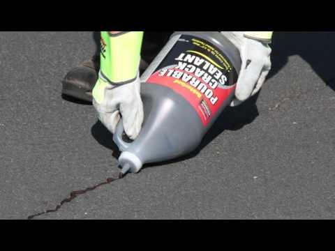 SealMaster Pourable Crack Filler   Cold Pour Crack Filler For Asphalt Pavement