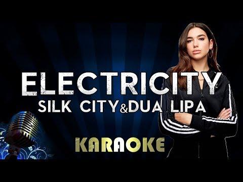 Silk City, Dua Lipa - Electricity ft. Diplo, Mark Ronson | Karaoke Version Instrumental Lyrics