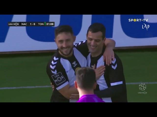 Goal | Golo Rúben Micael: CD Nacional (1)-0 Tondela (Liga 20/21 #11)