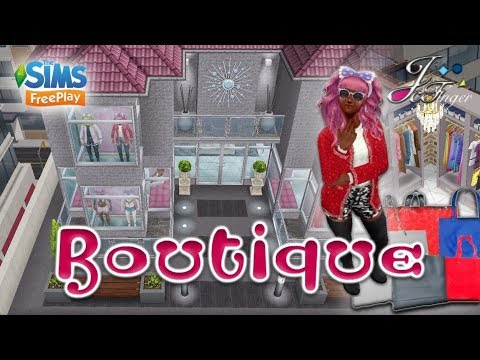 The Sims Freeplay Boutique Youtube