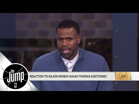 Stephen Jackson doesn't think Isaiah Thomas and Rajon Rondo deserved ejections | The Jump | ESPN