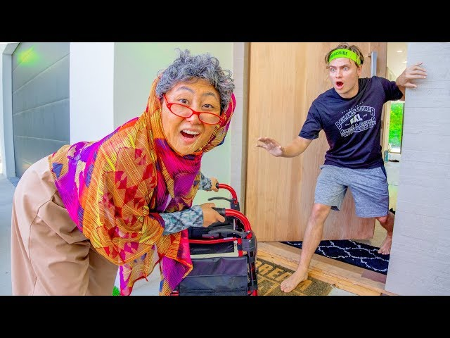I TURNED INTO A GRANDMA FOR THE DAY!!