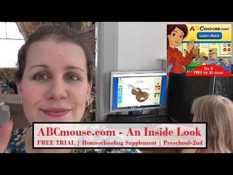 ABC Mouse FREE TRIAL Homeschool Supplement-Mom of 7