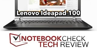 Lenovo ideapad 100 laptop Review. Pentium N3540 test results.