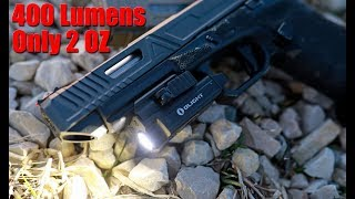 Olight PL-MINI Valkyrie 400 Lumen LED Rechargeable Weapon Light Review
