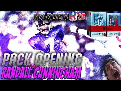 WOW GHOST RANDALL CUNNINGHAM! BEST QB IN MUT!! ULTIMATE FREEZE BUNDLE! MADDEN 16 ULTIMATE TEAM