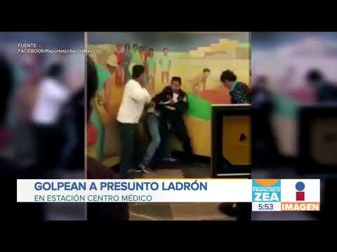 Golpean a presunto ladrón en estación del Metro Centro Médico | Noticias con Francisco Zea