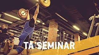 Семинар по тяжелой атлетике - ARMA SPORT