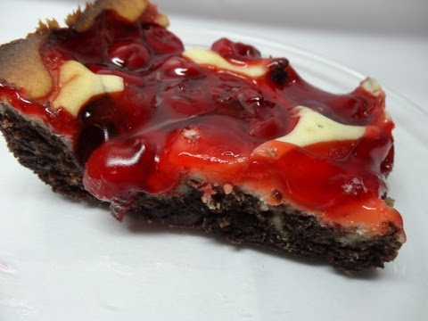Recipes Using Cake Mixes #24:  Cherry Bliss Brownies