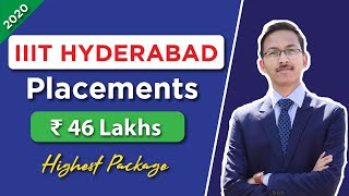 IIIT HYDERABAD Branch wise Placements of 2020 | Highest, Average, Median Salary | Companies