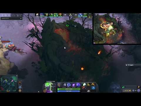 【DotA】TI7  LFY.Ahfu Steals Aegis vs VP dual perspective