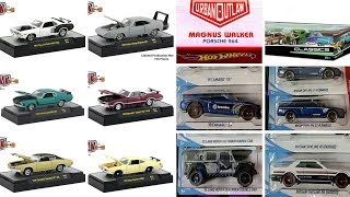Quick News: Peek on Upcoming 2019 Hot Wheels, M2 Machines Muscle Cars and others