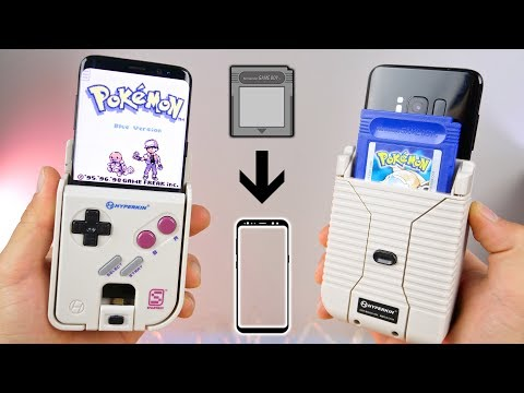 Thumbnail: Play Real GameBoy Cartridges On Your Phone!