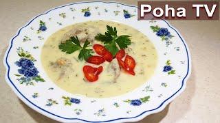 Изумительный супчик (Чихиртма).Грузинская кухня. Разнообразим первые блюда.