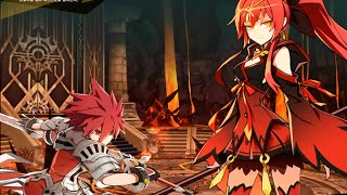 [Elsword KR] Lord Knight - 9-4 - Volcanic Flames entrance VH - Ranox town
