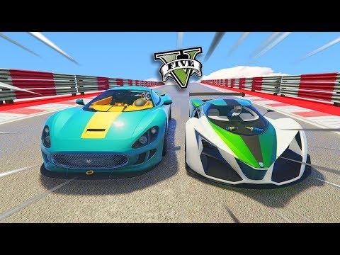 GTA V Online: TESTE de VELOCIDADE com o NOVO OCELOT XA-21 VS X80!!!