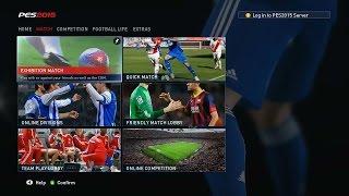 [PC] Pro Evolution Soccer 2015 Full Match Gameplay - Real Madrid vs Bayern Munich [HD5450]