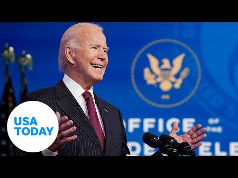 Joe Biden introduces Pete Buttigieg as Transportation Secretary   USA TODAY