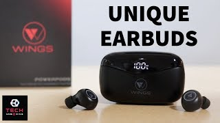 Best Earbuds With Power Bank | Wings PowerPods | Tech Unboxing ??