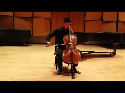 Bach - Cello Suite No3 Prelude