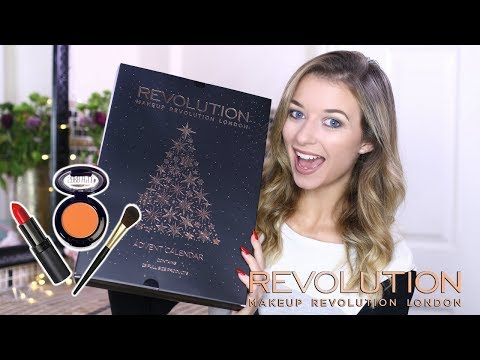 MAKEUP REVOLUTION ADVENT CALENDAR 2017 | Eltoria