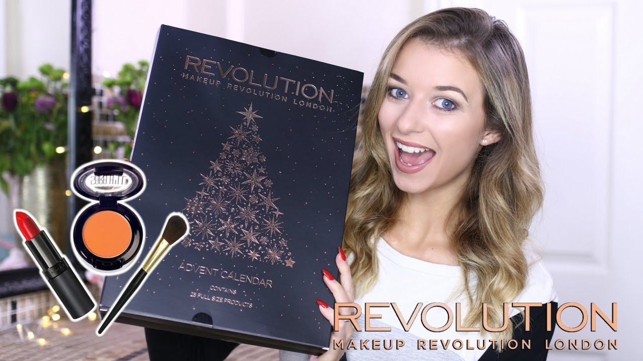 makeup joulukalenteri 2018 MAKEUP REVOLUTION ADVENT CALENDAR | Eltoria   YouTube makeup joulukalenteri 2018