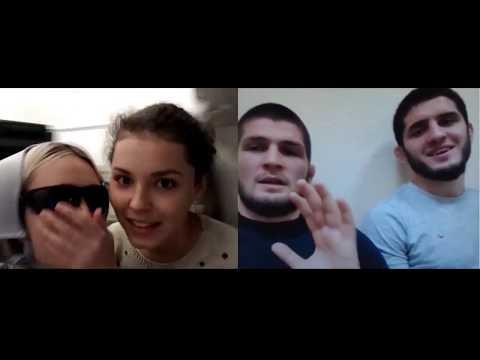Реальный Хабиб Нурмагомедов в чат рулетке | ШОК