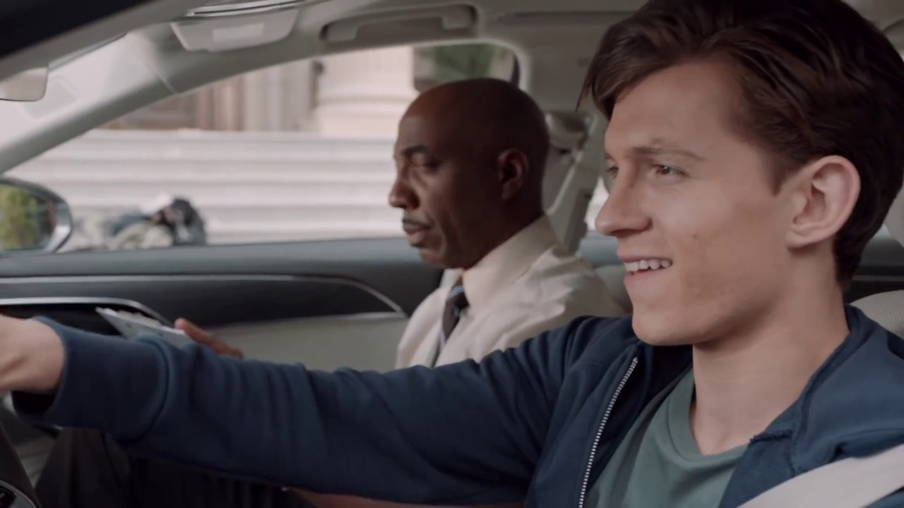 Spider-Man: Homecoming: Driver's Test Audi Commercial - Tom Holland - YouTube