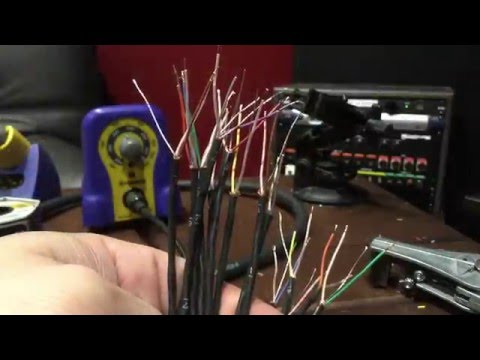 Studio Wiring - How To Build an XLR Audio Snake Step by Step