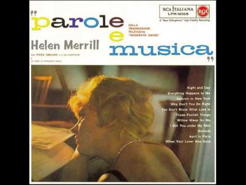 Helen Merrill - Solitude (1961)