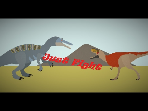 Just Fight; Suchomimus Vs Lythronax